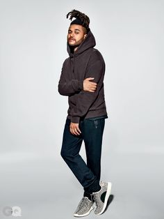 e98e155d682 The Weeknd Wears Kanye s New Yeezy Collection Photos