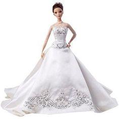 Reem Acra Bride Barbie