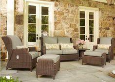 Prepare your porch for warmer weather by picking a patio set suited to fit your needs. The Home Depot's Garden Club has advice on how to pick the right patio set for you.