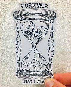 - Idee Tattoo - tattoo designs ideas männer männer ideen old school quotes sketches Graffiti Tattoo, Forearm Tattoo Design, Skull Tattoo Design, Forearm Tattoos, Creepy Tattoos, Skull Tattoos, Body Art Tattoos, Hand Tattoos, Little Tattoos