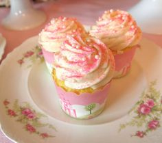 The Best Moist and Fluffy White Cupcake Recipe - with Silky Vanilla Frosting