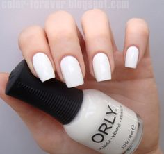 Color Forever: Orly White Out