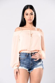 51208fbb8f So Fresh And So Clean Top - Blush · Fashion Nova ...
