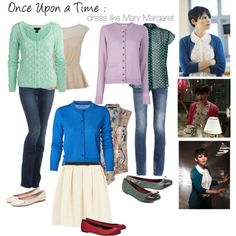 """""""Once upon a time Mary Margaret"""" Cool Outfits, Casual Outfits, Fashion Outfits, Nerd Fashion, Punk Fashion, Lolita Fashion, Fashion Boots, Mary Margaret Style, Disney Inspired Fashion"""