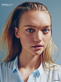 visual optimism; fashion editorials, shows, campaigns & more!: serenity now: gemma ward by beau grealy for sunday style 12th october 2014