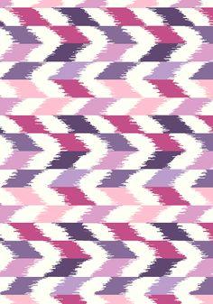 Desert Style Ikat by cassie, customized by janie via WeaveUp