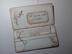 tarjetas para regalar dinero en bodas scrap - Buscar con Google