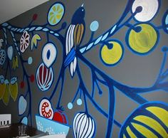 cool wall mural