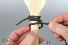 How to Wrap a Paddle or Handle with Paracord