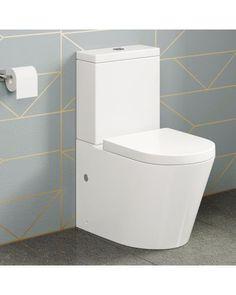 Lyon II Staand Toilet Compleet Met Spoelbak En Softclose Zitting