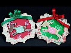 DIY Adornos Navideños Renos de Navidad *Christmas Decorations* Manualidades Papel Pintura Facil