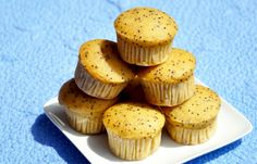Best Lemon Poppyseed Muffins ever! And they're vegan! Who knew? Forget the mini-muffin size; I always double it. Who is actually satisfied after eating a mini-muffin??!  Also, I added more lemon juice and zest than was called for.