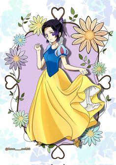 Shinobu Kocho • Snow White • Demon Slayer • Kimetsu no Yaiba • Disney • Crossover Crossover, Snow White, Disney Characters, Fictional Characters, Disney Princess, Art, Audio Crossover, Art Background, Snow White Pictures