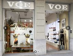 Take a peek at the VOE store in Barcelona!