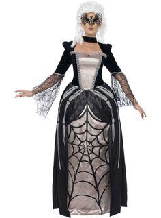 Disfraz de viuda negra elegante para mujer | Comprar