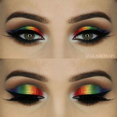 Makeup looks perfect for PRIDE   pride   makeup