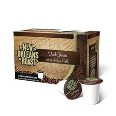 New Orleans Roast - Dark Roast Single Cups, 12 Count (PACK OF 3 BOXES) -- Find out more about the great product at the image link. (This is an affiliate link) #BlackTea