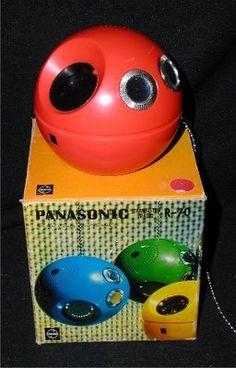 panasonic ball radio
