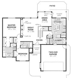 Plan No.131024 House Plans by WestHomePlanners.com