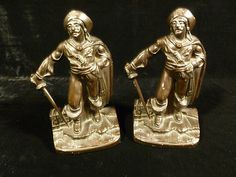 PIRATE BOOK ENDS - CIRCA 1930