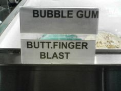 hahaha... That's not an ice cream flavor I want to try!