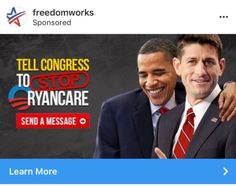 Representatives of FreedomWorks Americans for Prosperity and Heritage Action for America will attend the meeting Wednesday night.  (via Conservatives meet with Trump who hints that GOP ACA fix could drift further right - The Washington Post)
