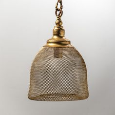 The Keira Pendant Collection re-fashions age old wire mesh into an elegant story…