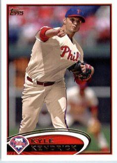 2012 Topps Baseball Card of Kyle Kendrick
