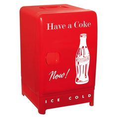 Koolatron Retro Compact Thermoelectric Refrigerator (CCR12) - Coca-Cola                         - Web Only