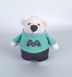 Download Mighty Malcolm Amigurumi Pattern (FREE)