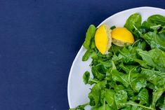 Simple Arugula Salad with Lemon