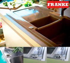 Yksi Franken altaisiin saatavista lisäominaisuuksista innovatiivinen painonappiventtiili. Sen avulla vedenpoisto voidaan avata ja sulkea vielä helpommin. #franke #sisustus #keittiö #koti #sisustussuunnittelu #allas #interior #interiordesign #helakeskus #tukkumyynti #yritysmyynti