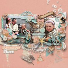 Collections :: B :: Boho Beach by WendyP Designs :: Boho Beach - Bundled Collection + FWP