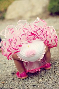 Mud Pie Cupcake Bloomers-mud pie, bloomers, diaper covers, girl, pink, baby, infant, cupcake, shower gift