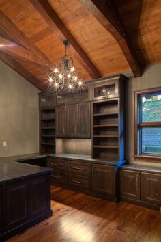 Custom Home Office Designed By Madison WI Residential Designer Udvari Solner Design Company