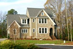 Abberly - Home Plans and House Plans by Frank Betz Associates  #abberly #homeplans #frankbetz #floorplans #frenchcolonial
