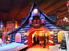 The Santaland Holiday Display- Macy's 8th Floor. November 23 - December 24, 2013. #Minneapolis