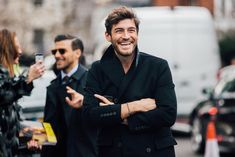 Fashion Week homme Street looks Londres automne hiver 2016 2017 74