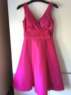 BHS Wedding Collection Bridesmaid/Wedding Guest/Prom Dress Fuschia Pink Size 10