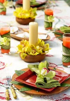 Decoração de Natal tropical - Celebrando o verão nas festas de fim de ano! - Claudia BartelleClaudia Bartelle