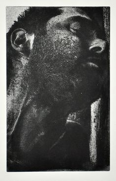 Laid Low. Liquid Photo Resist Gravure Etching. Kevin A. Pickering.