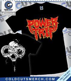 "Power Trip ""Spikey Snake"" Black Shirt"
