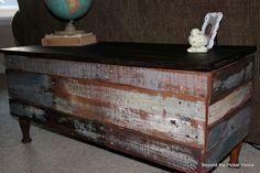 DIY: Pallet Storage Bench/Coffee Table Tutorial