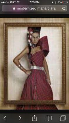 Modernized filipiniana Filipino Wedding, Filipiniana, Traditional Wedding, Two Piece Skirt Set, Modern, Skirts, Dresses, Fashion, Vestidos
