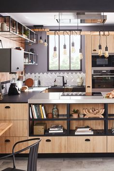 What style to choose for your new kitchen? DECO PLANET at homes world Kitchen Cabinets Decor, Kitchen Furniture, Home Interior, Kitchen Interior, Loft Kitchen, Kitchen Industrial, Modern House Plans, Cuisines Design, Beautiful Kitchens
