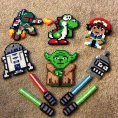 Perler bead creations by srainey3