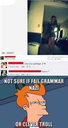 :D clever troll. funny as shit