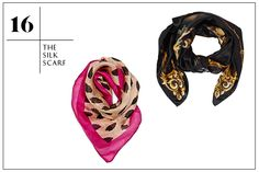 Silk scarves-on trend, beautiful, stylish and warm!
