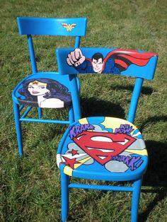 superman e wonder woman by pastrocchi