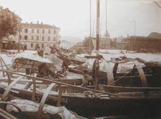 Como, San'Agostino, the harbor 20's